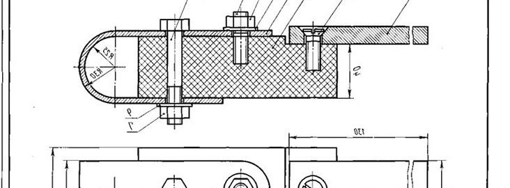 Изготовление чертежей по образцу детали