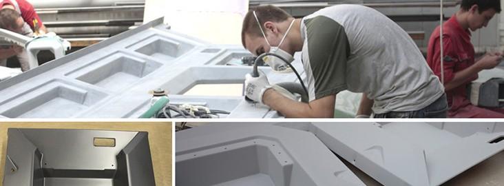 Изготовление деталей из стекловолокна